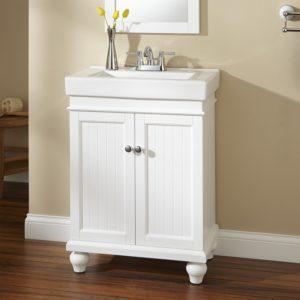24 Bathroom Vanity top Lander Vanity White Bathroom Design