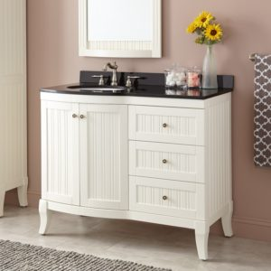 42 Bathroom Vanity Inspirational Palmetto Creamy White Vanity Bathroom Ideas