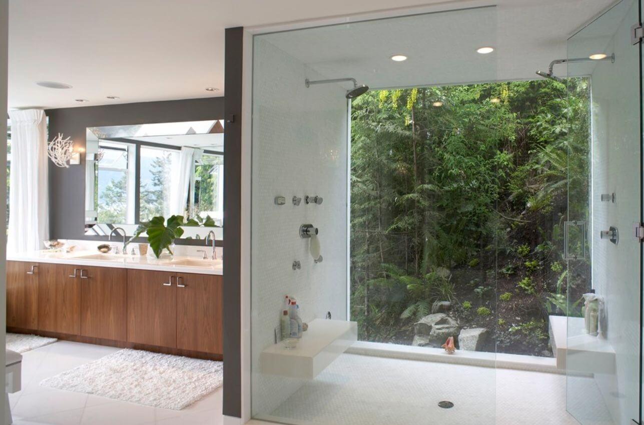 Bathroom avoid windowing