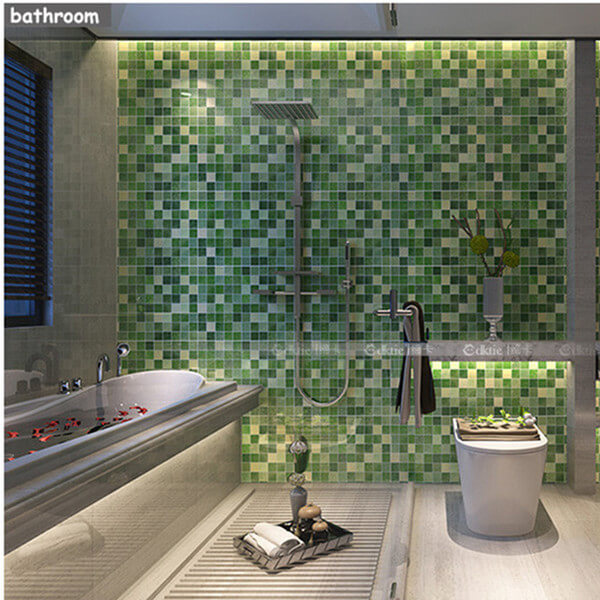 Bathroom minimalist wallpaper