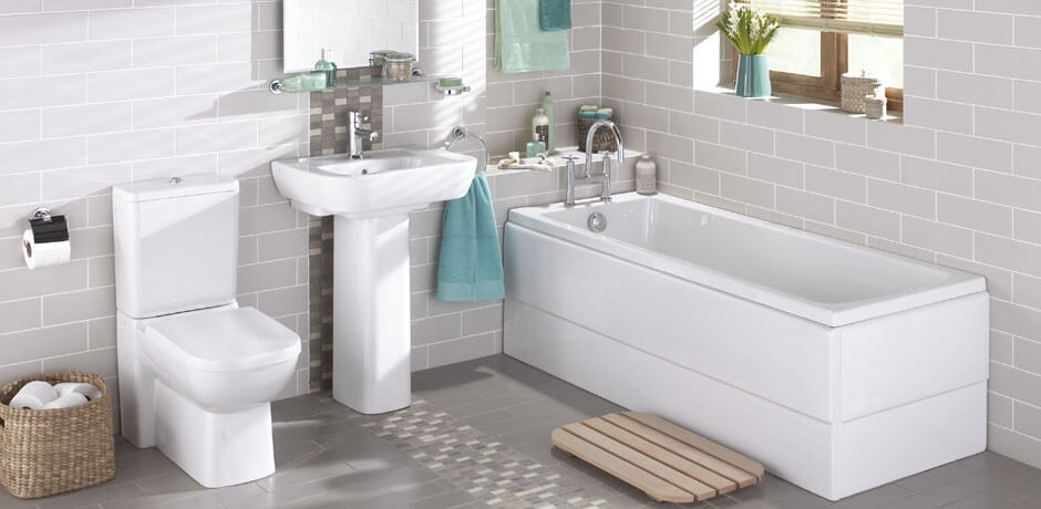 Changing the size of the bathtub, bathtub and toilet