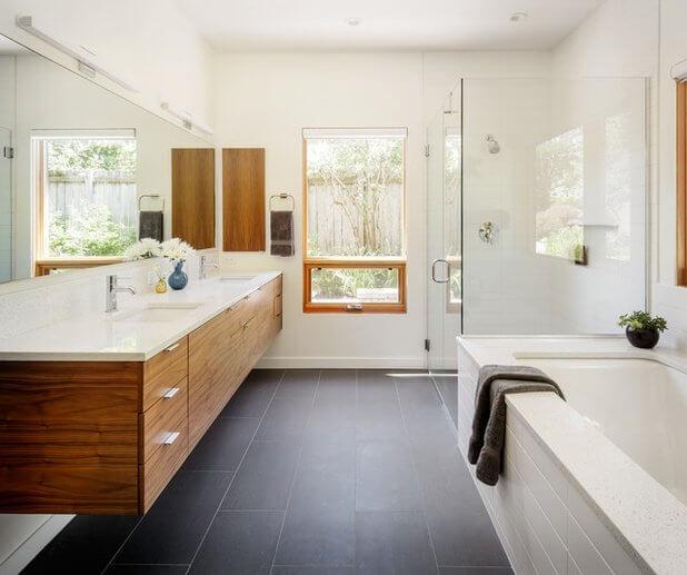 Step Rearrange Minimalist Bathroom