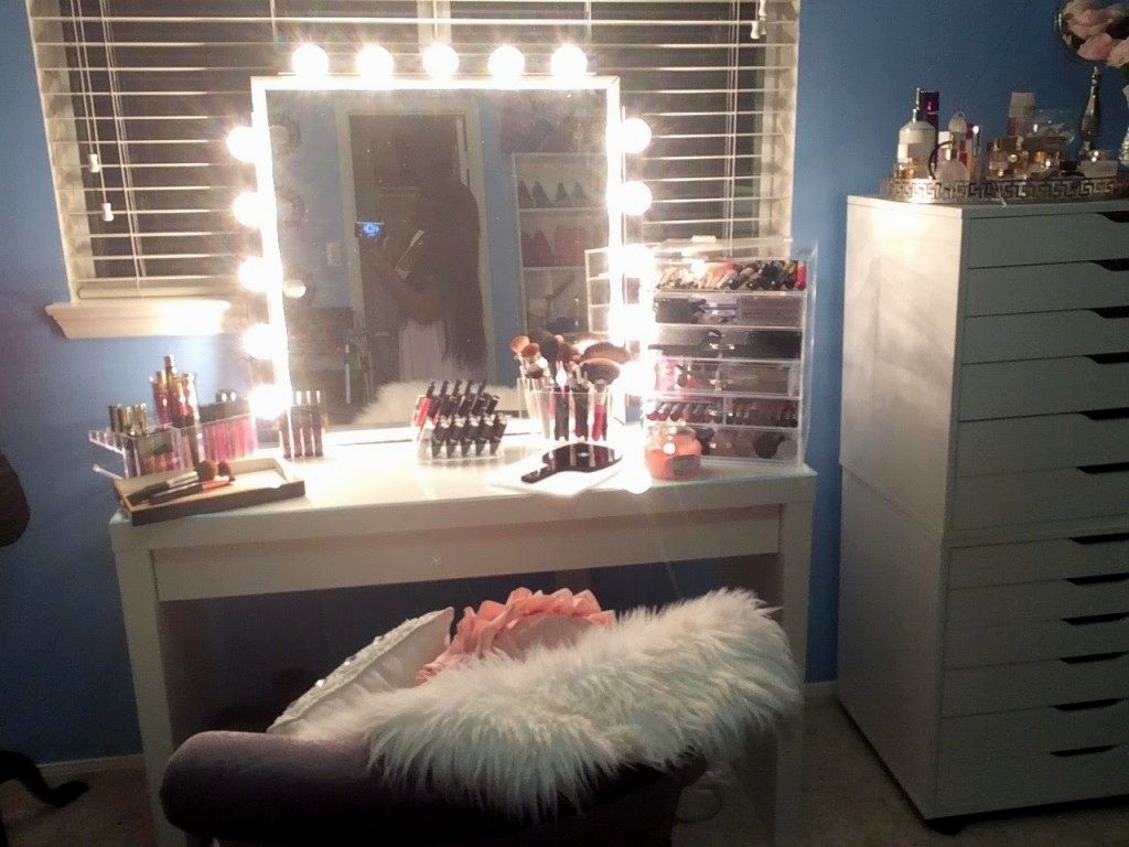 amazing bathroom makeup vanity picture-Cute Bathroom Makeup Vanity Photograph