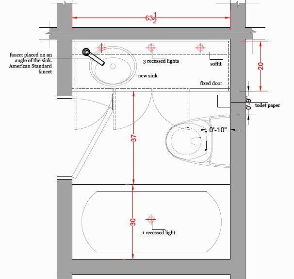 awesome small bathroom layout plan-Lovely Small Bathroom Layout Decoration