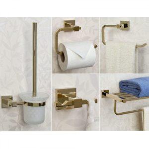 Bathroom Accessories Sets Fancy Albury 5 Piece Bathroom Accessory Set Bathroom Photo