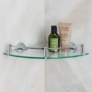 Bathroom Corner Shelf Beautiful Bristow Tempered Glass Corner Shelf Bathroom Inside Bathroom Décor