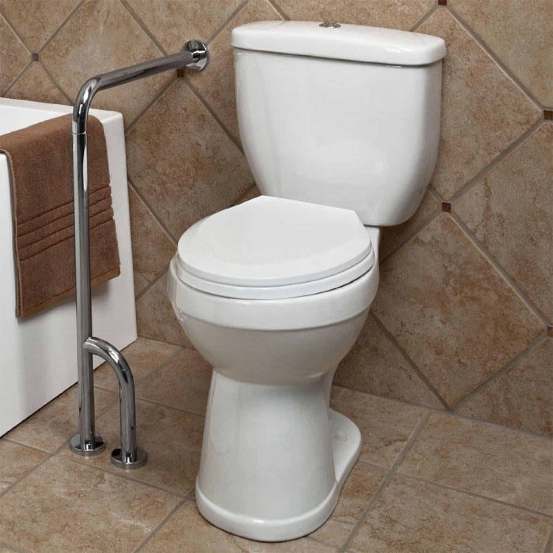 Bathroom Grab Bars Lovely Pickens Wall to Floor Grab Bar Bathroom Architecture