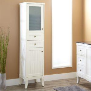 Bathroom Linen Cabinets Cool Palmetto Bathroom Linen Storage Cabinet Bathroom Construction