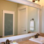 Bathroom Mirror Frames Cool How to Frame A Mirror Photo