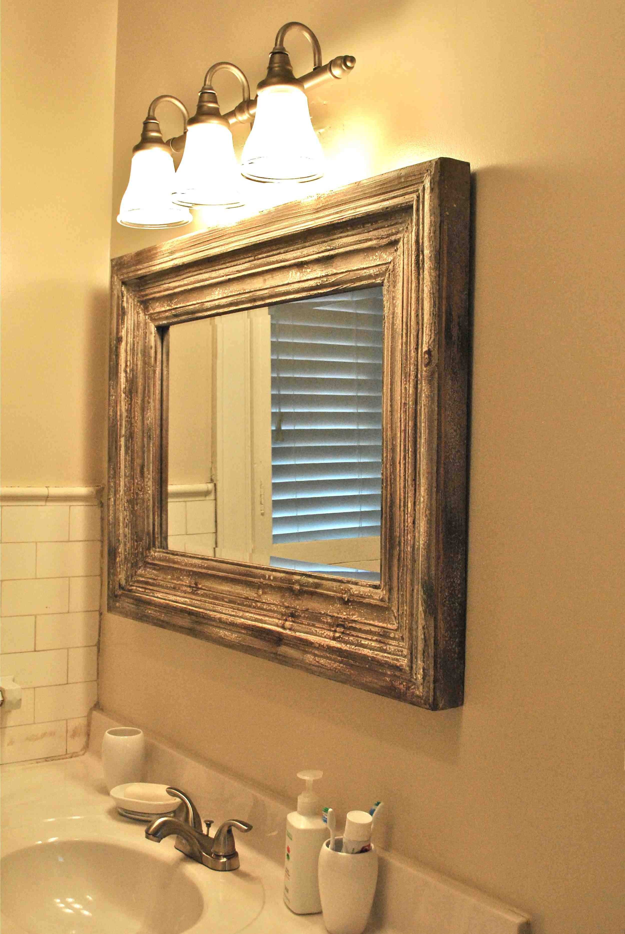 Bathroom Mirrors Lowes Modern Sensational Ideas Bathroom Mirrors and Lighting Lovely with Lowes Décor