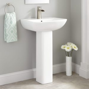 Bathroom Pedestal Sink Best Of Kerr Porcelain Pedestal Sink Bathroom Portrait
