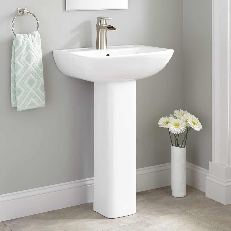 Bathroom Pedestal Sink Best Of Kerr Porcelain Pedestal Sink Bathroom Portrait