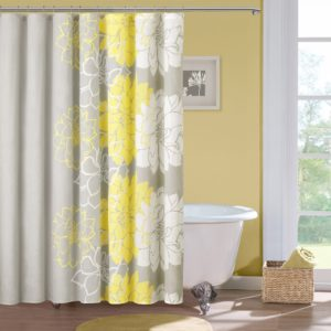 Bathroom Shower Curtains Terrific Home Essence Jane Cotton Shower Curtain Walmart Inspiration