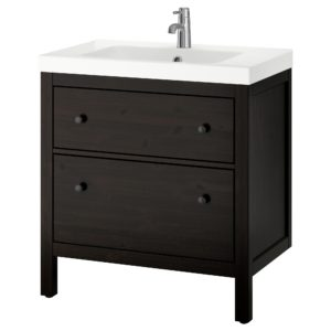 Bathroom Sink Cabinet Best Hemnes Odensvik Sink Cabinet with 2 Drawers White Ikea Architecture