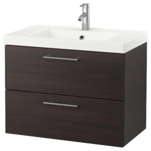 Bathroom Sink Cabinets Beautiful Godmorgon Odensvik Sink Cabinet with 2 Drawers High Gloss Gallery