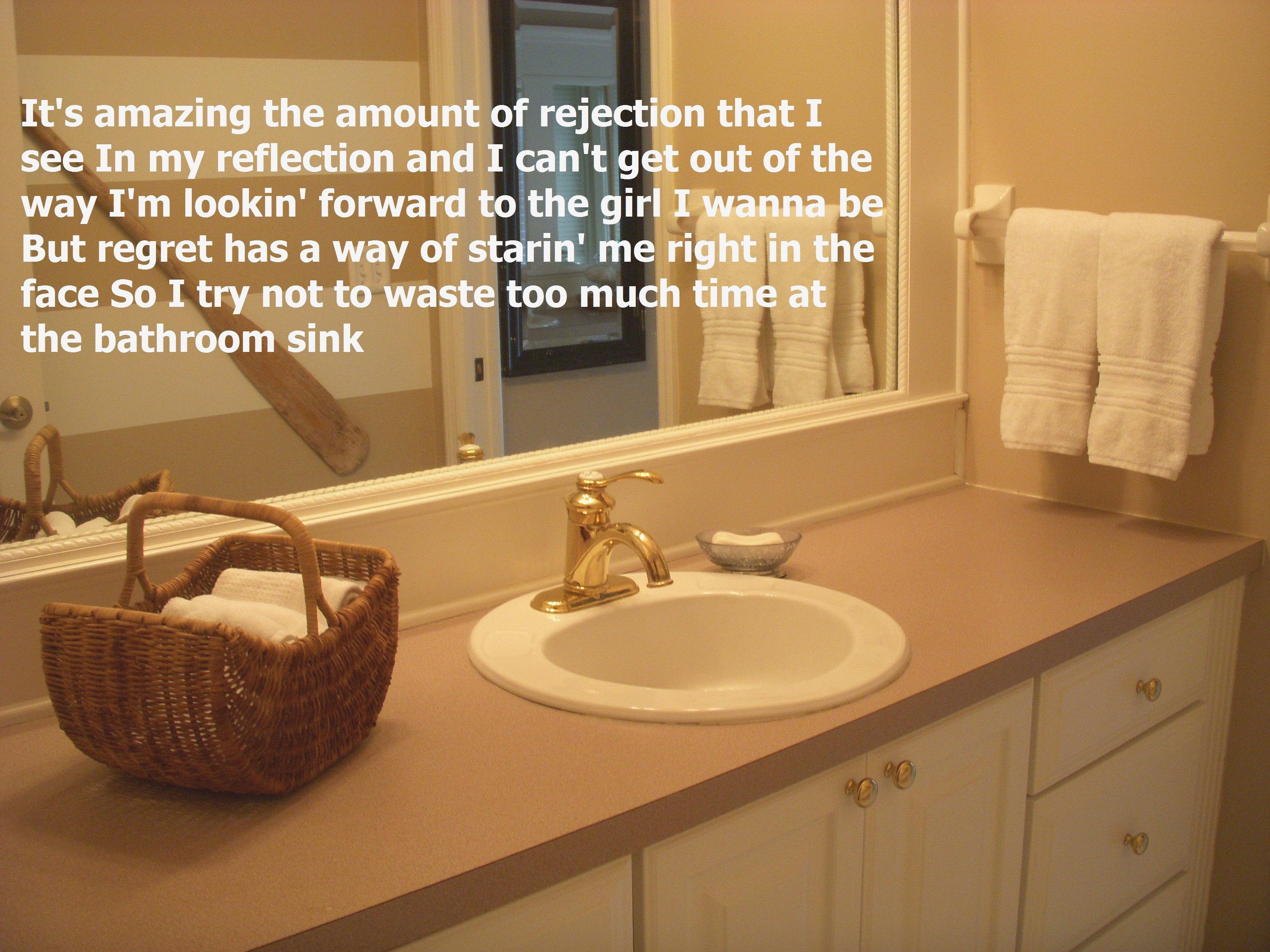 Bathroom Sink Lyrics Luxury Awesome Bathroom Sink Miranda Lambert I Made My Own Pin these Photo