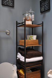 Bathroom towel Storage Unique Bathroom Incredible Corner Black Bathroom Ladder Shelves Design Inspiration