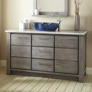 Bathroom Vanity Store Best Of Venica Teak Single Vessel Sink Vanity Gray Wash Bathroom Inspiration