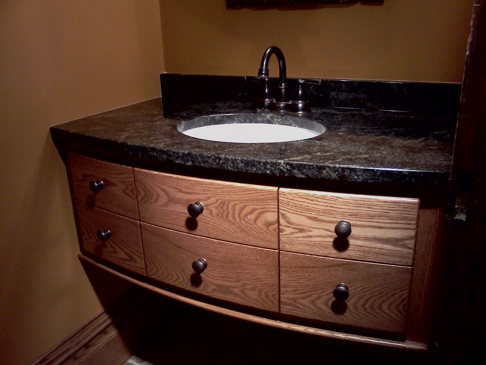 Bathroom Vanity with top Best Of Excellent Black Granite with Six Drawers Teak Wood Materials at Plan
