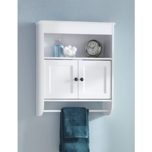 Bathroom Wall Storage Cabinets Lovely Hawthorne Place Wood Wall Cabinet White Walmart Concept