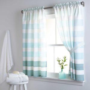Bathroom Window Curtains Excellent Kitchen Bath Curtains Bed Bath Beyond Picture