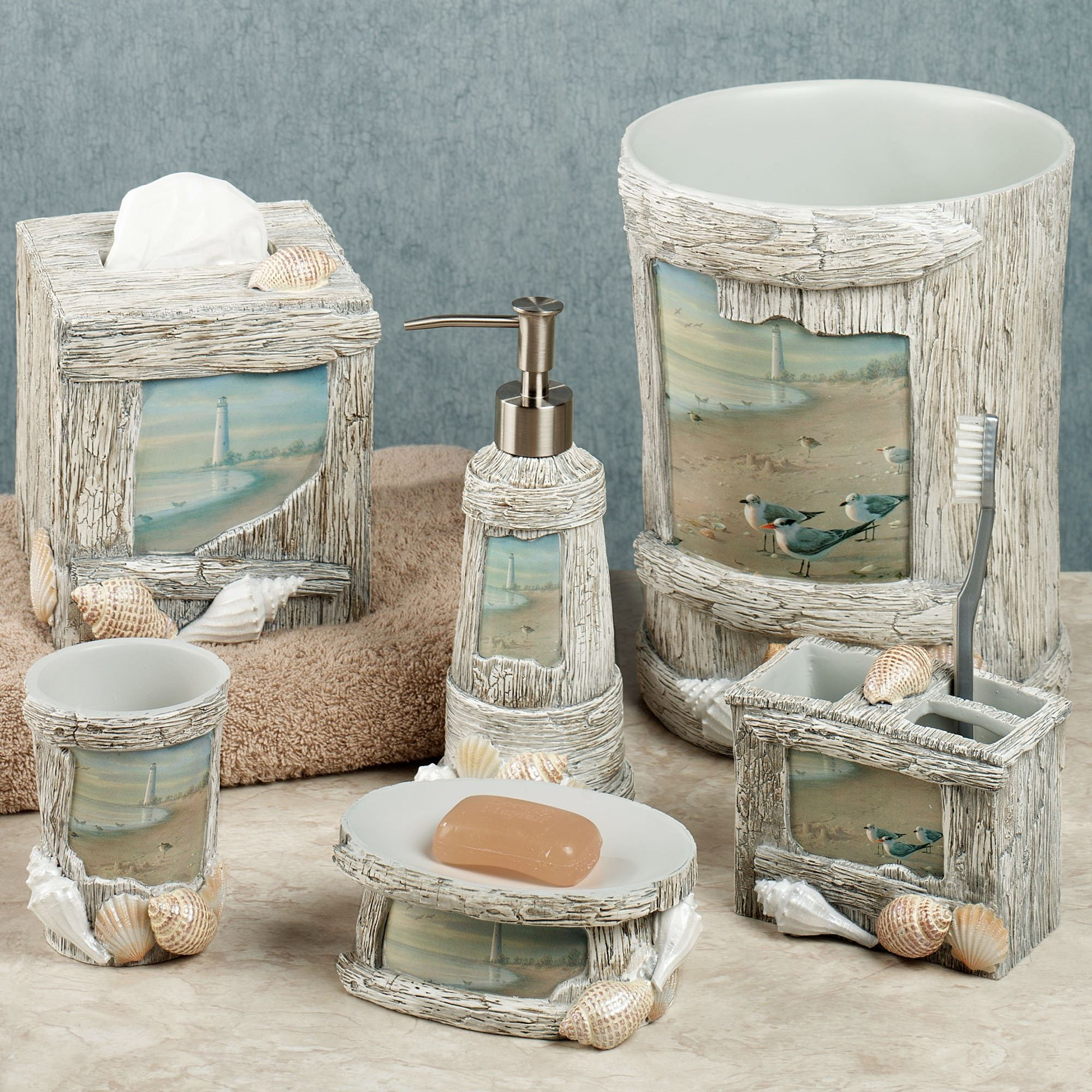 Perfect Amazing Beach Bathroom Decor Collection