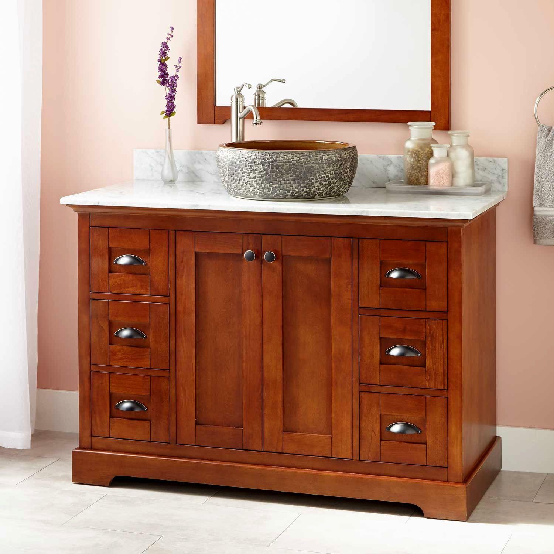 beautiful bathroom vanity with vessel sink image-Beautiful Bathroom Vanity with Vessel Sink Design
