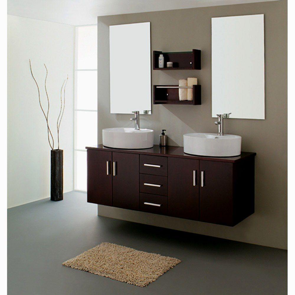 beautiful double bathroom vanities construction-Superb Double Bathroom Vanities Decoration