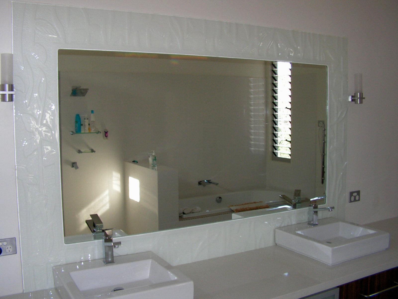 beautiful framed bathroom mirrors pattern-Stylish Framed Bathroom Mirrors Picture