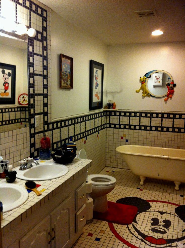 best mickey mouse bathroom decoration-Best Mickey Mouse Bathroom Ideas