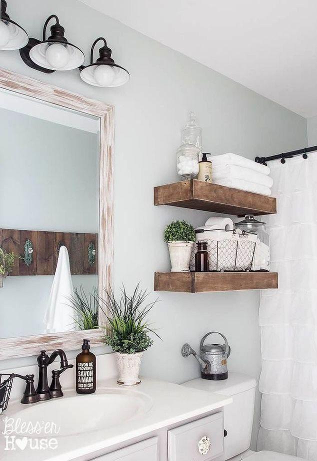 best of bathroom shelves over toilet image-Unique Bathroom Shelves Over toilet Design