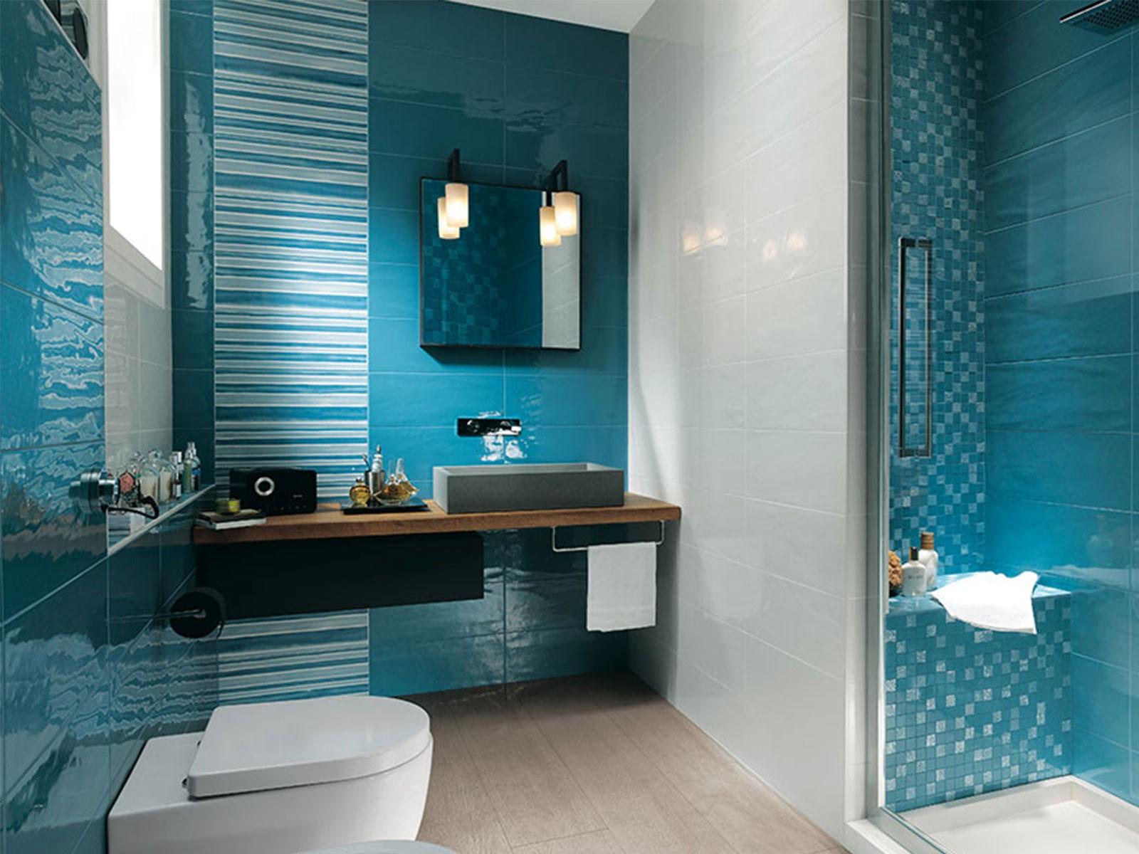 Beautiful Blue Bathroom Ideas Wallpaper - Bathroom Design Ideas ...