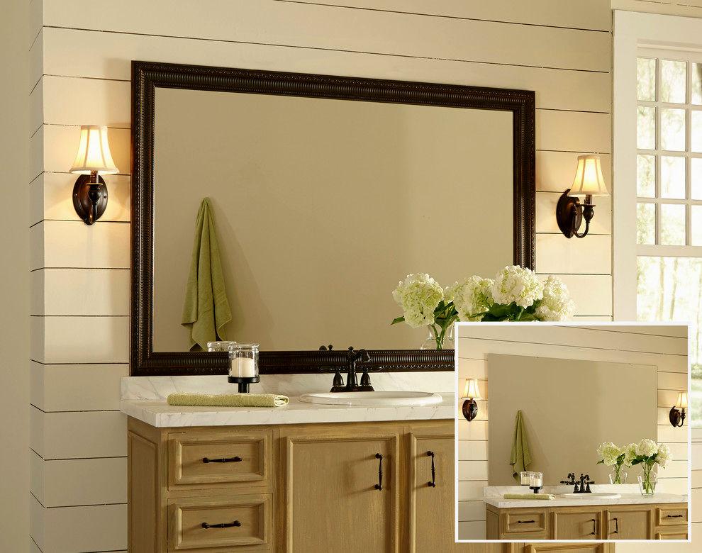 contemporary bathroom mirror frames ideas-Amazing Bathroom Mirror Frames Ideas