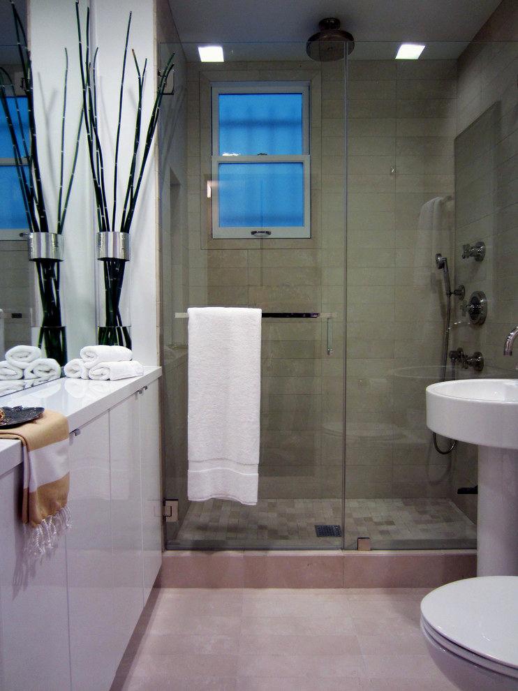 cool bathroom towel rack layout-Contemporary Bathroom towel Rack Image