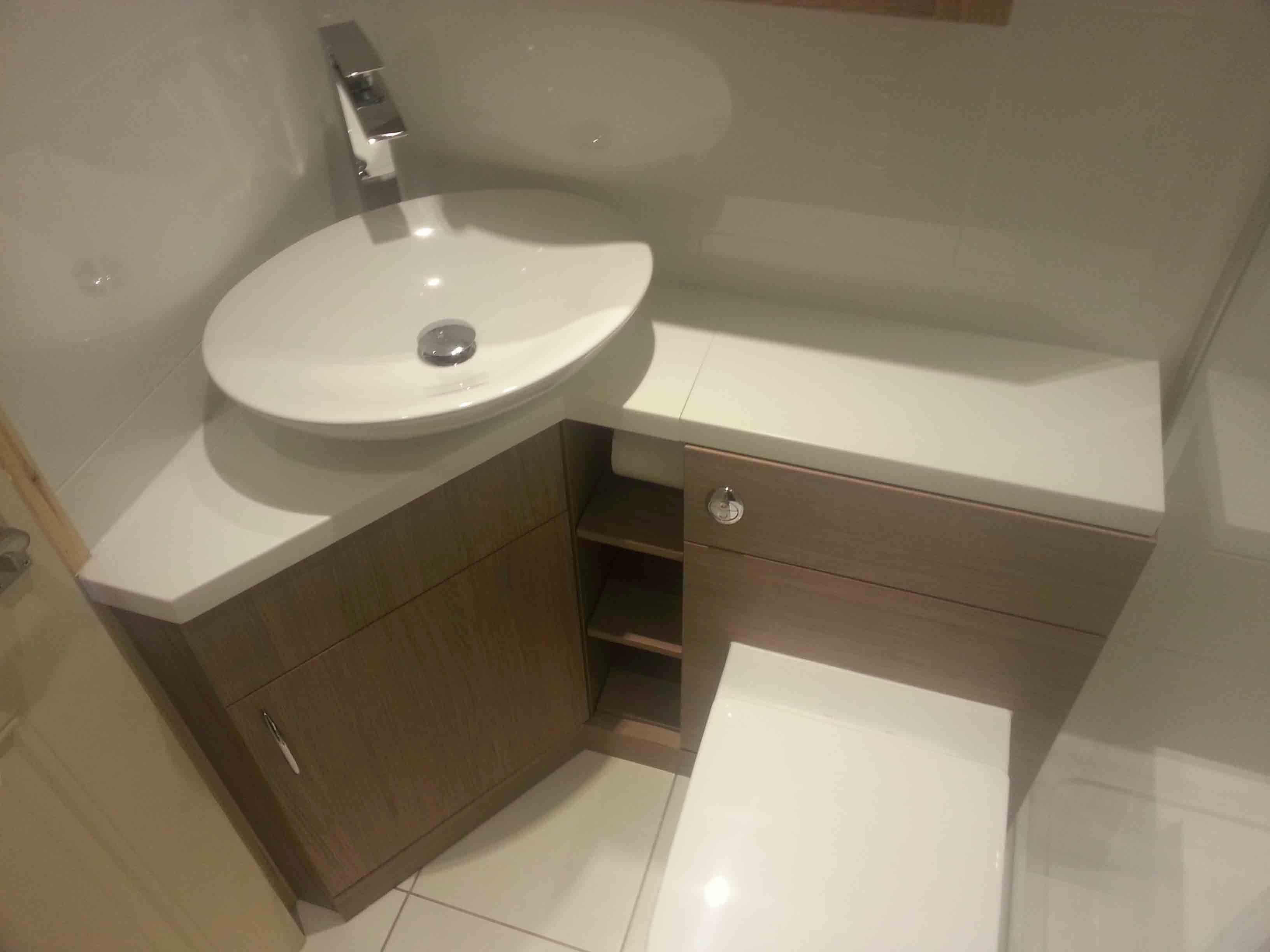Bathroom Designs Ideas Gallery ~ Fascinating corner bathroom vanity gallery bathroom design ideas