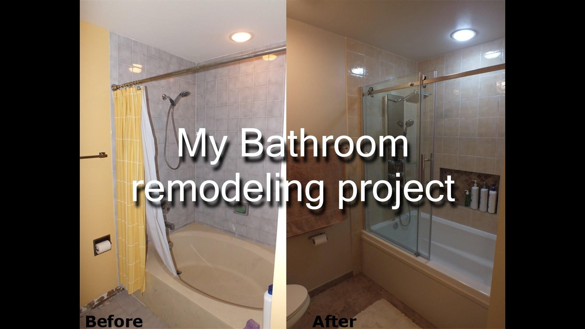 Diy Bathroom Remodel Best Of Step by Step Diy Bathroom Remodeling Project Gallery