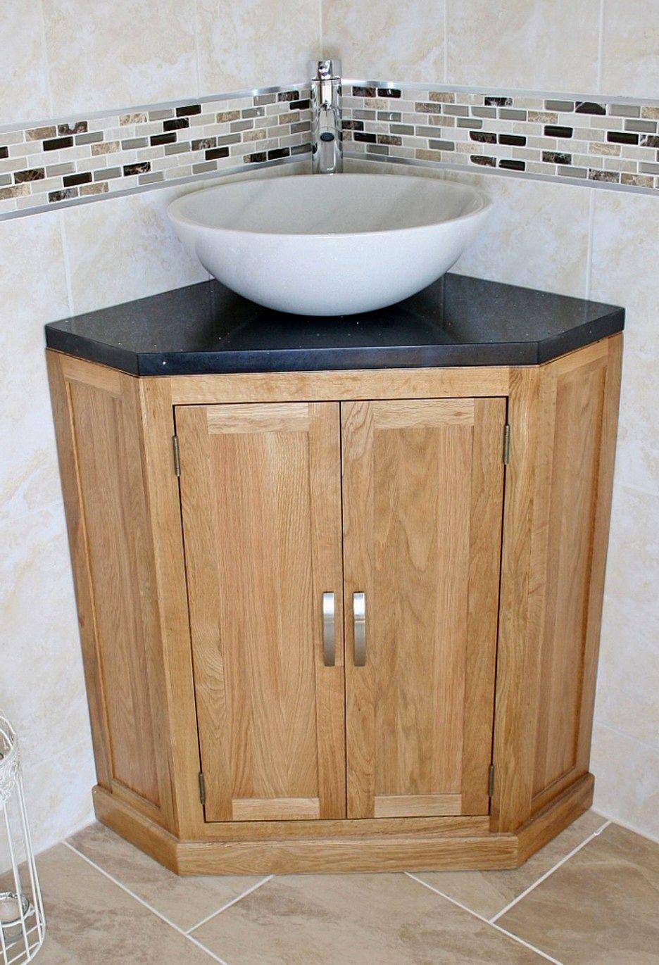 elegant bathroom vanity with vessel sink design-Beautiful Bathroom Vanity with Vessel Sink Design