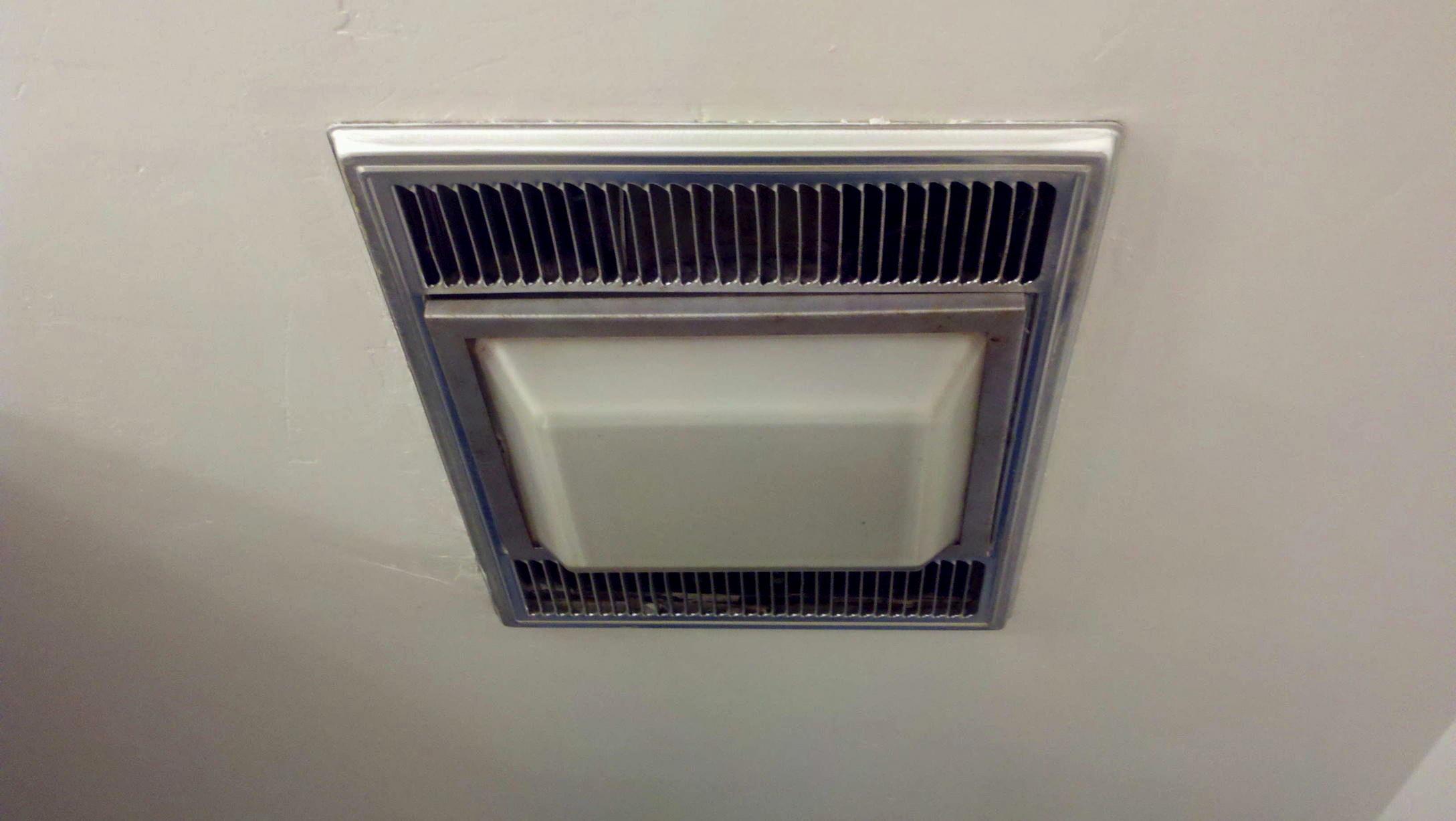 excellent bathroom fan light image-Stylish Bathroom Fan Light Model