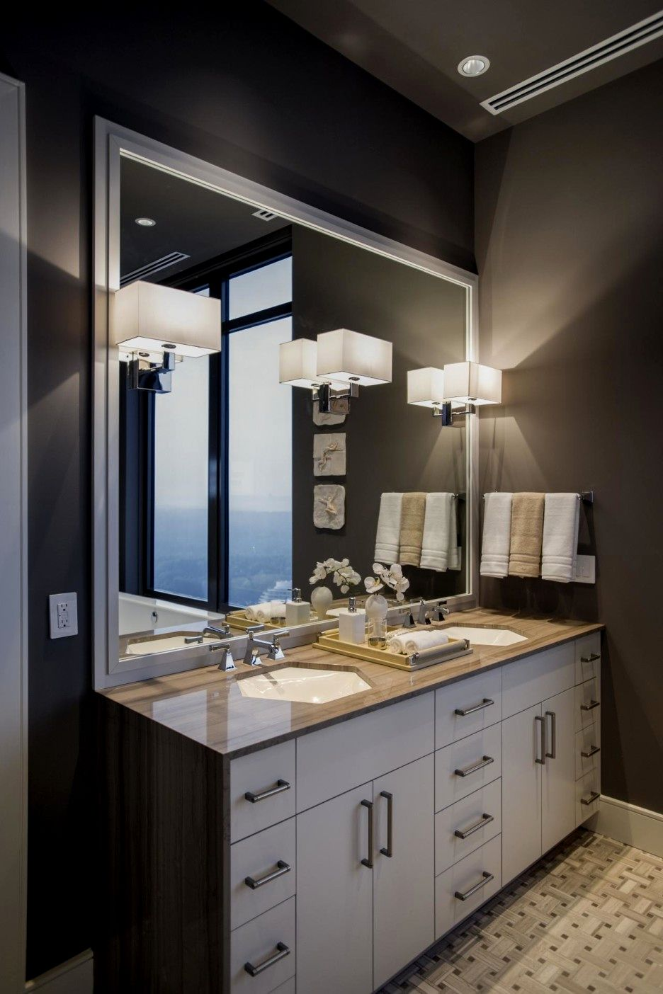 excellent framed bathroom mirrors pattern-Stylish Framed Bathroom Mirrors Picture