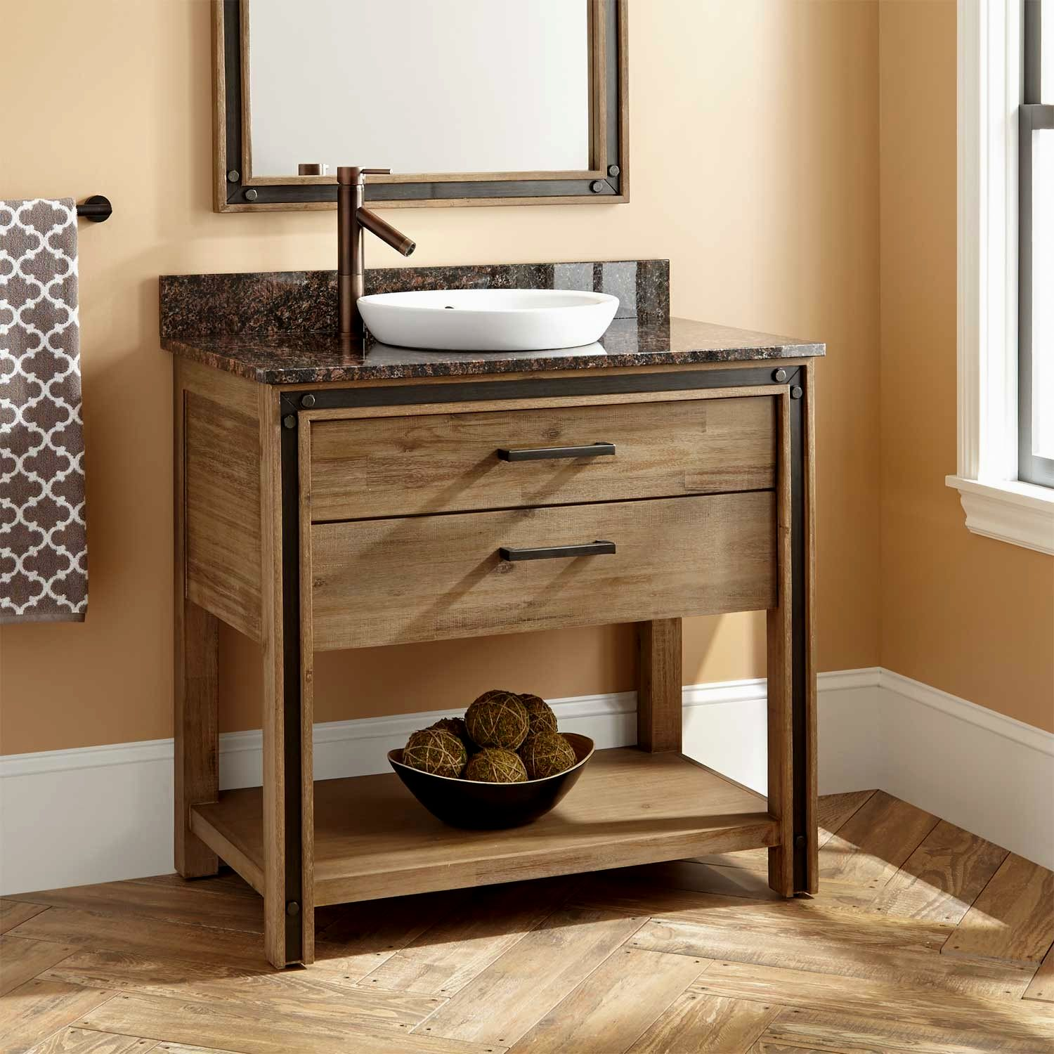 for vanity costco wood awesome quot of vanities new lovely attachment bathroom design benoist undermount kitchen pine sink cabinet reclaimed