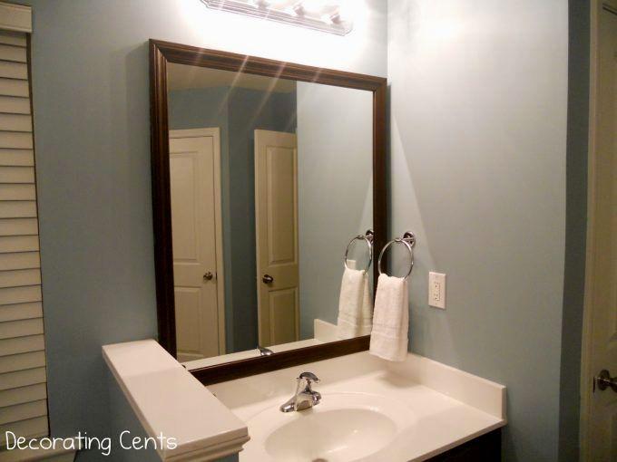 fantastic bathroom mirror frames decoration-Amazing Bathroom Mirror Frames Ideas