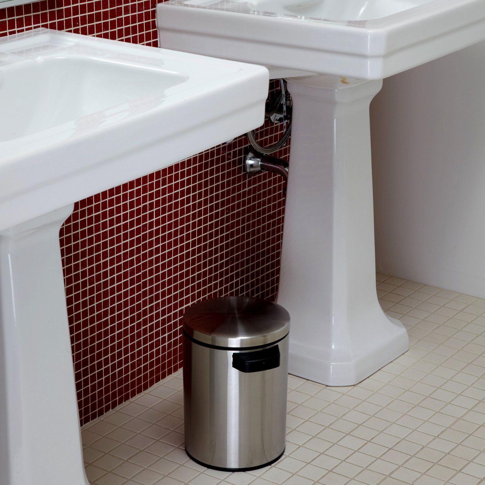 fascinating bathroom trash can ideas-Inspirational Bathroom Trash Can Photo