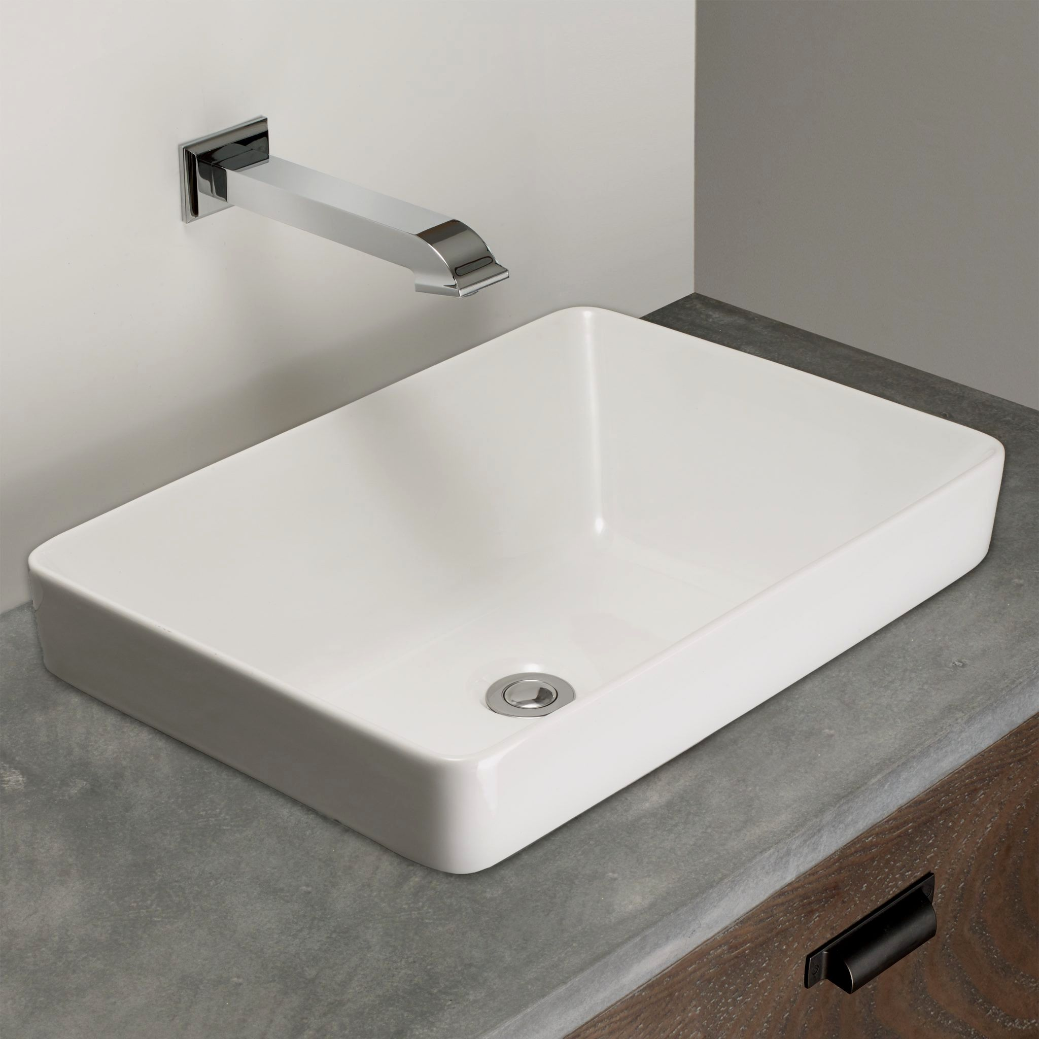 Elegant Bathroom Sinks: Elegant Rectangular Bathroom Sinks Online