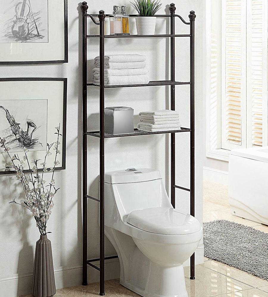 Unique Bathroom Shelves Over toilet Design - Bathroom Design Ideas ...