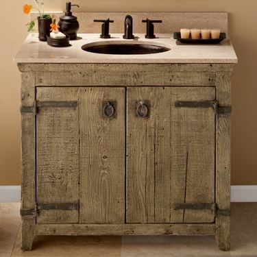 fresh reclaimed wood bathroom vanity décor-Fantastic Reclaimed Wood Bathroom Vanity Decoration