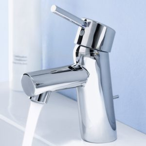 Grohe Bathroom Faucets Modern Grohe Concetto Single Handle Bathroom Faucet 15 Gpm Picture