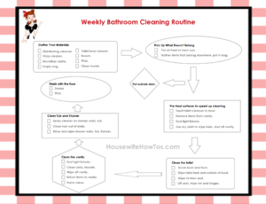 How to Clean A Bathroom Latest Amazing Of Incridible Weekly Bathroom Cleaning Routine In Ideas