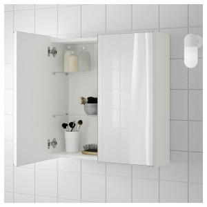 Ikea Bathroom Cabinets Finest Lill Ngen Mirror Cabinet with 2 Doors White Xx Cm Ikea Online