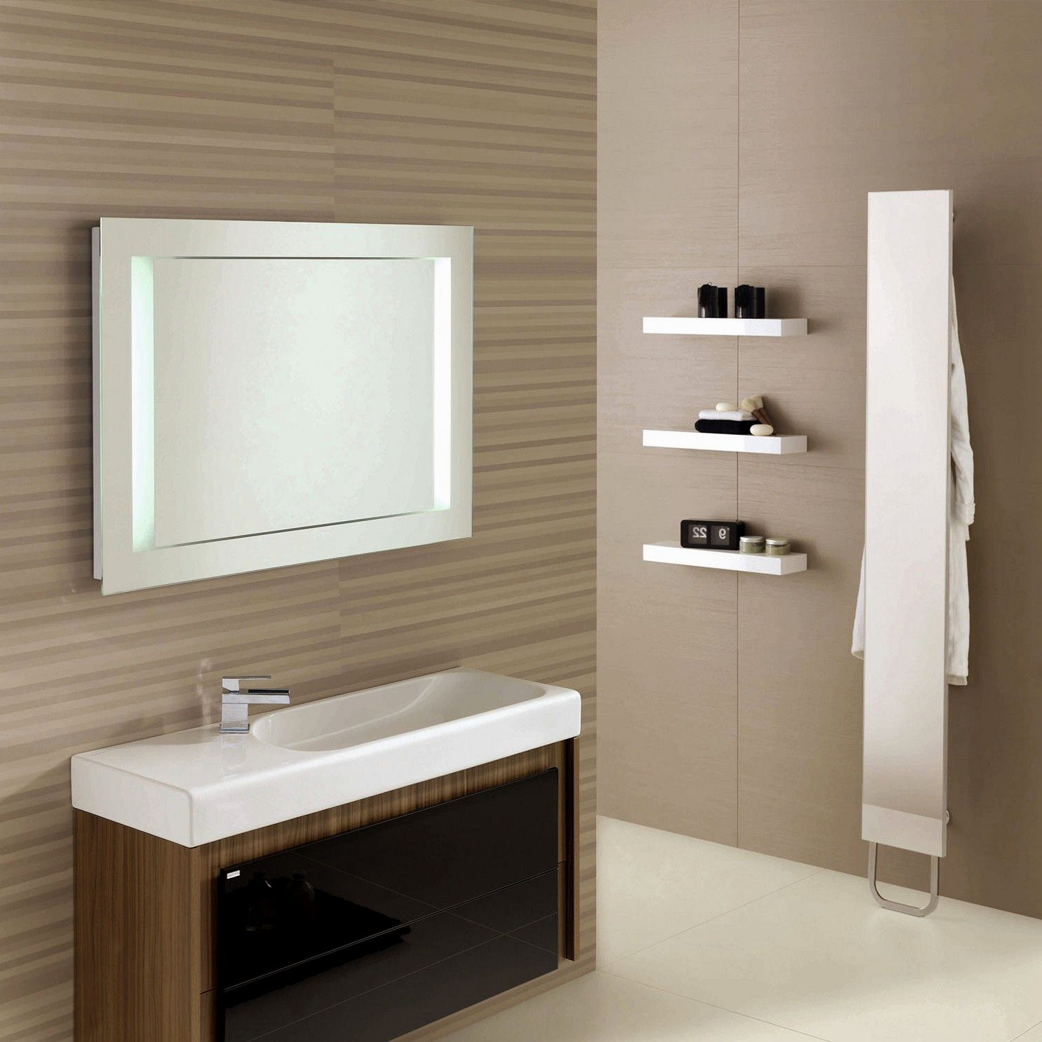 incredible bathroom mirror frames collection-Amazing Bathroom Mirror Frames Ideas