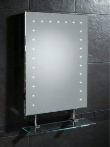 Led Bathroom Mirrors Awesome Hib Keo Led Bathroom Mirror with Glass Shelf and Shaver socket Wallpaper